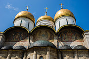 Russian Icon Photos - Dormition Cathedral Of Moscow Kremlin - Featured 3 by Alexander Senin