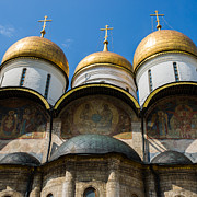 Dormition Cathedral - Square Print by Alexander Senin