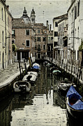 Venice Photo Framed Prints - Dorsodoru Canal I Framed Print by LeAnne Thomas