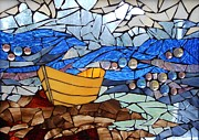 Mosaic Mixed Media - Dory  by Catherine Van Der Woerd