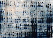 Dot Pattern Abstract Shower Curtain Print by Deborah DR Kralich