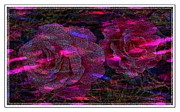 Dots Of Light And Roses Print by Barbara Griffin
