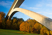 Natchez Trace Framed Prints - Double Arch Bridge Framed Print by David Johnston