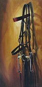 Bridle Art - Double Bridle by Janet  Crawford