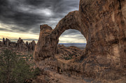 Double O Arch Photos - Double O Arch by Joel Moranton