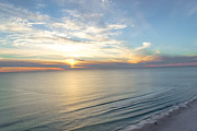 Panama City Beach Framed Prints - Double Sunset Framed Print by Rebecca LaChance