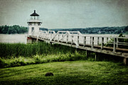 Maritimes Prints - Doubling Point Print by Joan Carroll