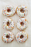 Doughnuts Photo Prints - Doughnut Art Print by Kim Fearheiley