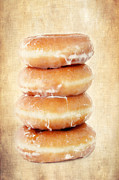 Glazed Posters - Doughnuts Poster by Darren Fisher