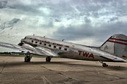 Douglas Dc-3 Framed Prints - Douglas DC-3 Framed Print by Tim McCullough