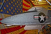 Douglas Skyhawk A-4l Print by Gregory Dyer