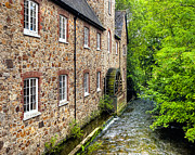 Old Mills Prints - Down By The Old Mill in Bovey Tracey Print by Mark Tisdale