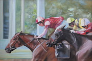 Susan Bradbury - Down the Backstretch