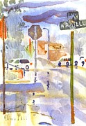 Water Colors Originals - Downpour by Kip DeVore