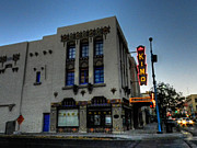 Albuquerque Prints - Downtown ABQ - KiMo Theater Print by Lance Vaughn
