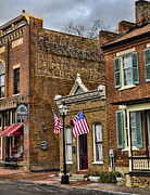 Shop Front Prints - Downtown America Print by Heather Applegate