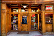Downtown Athletic Club - Prescott Arizona Print by David Patterson