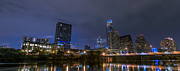 Austin Downtown Prints - Downtown Austin Print by David Morefield
