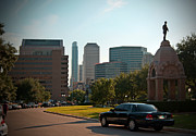 Colorado State University Prints - Downtown Austin Texas from the Capitolium Print by Arco Montufar