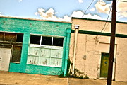 Abandoned Buildings Prints - Downtown Bryan Print by Chuck Taylor