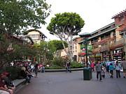 Downtown Disney Anaheim - 12128 Print by DC Photographer