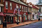 Shop Front Prints - Downtown Jonesborough TN Print by Heather Applegate