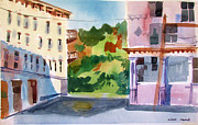 Kingston Prints - Downtown Kingston New York Print by Linda Novick