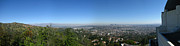 Griffith Park Prints - Downtown LA From Griffith Observatory Print by Bedros Awak