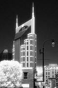 Jeff Holbrook Art - Downtown Nashville by Jeff Holbrook