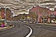 Brick Building Art - Downtown Pullman Washington by David Patterson