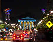 Raleigh Originals - Downtown Raleigh at night by Brett Price