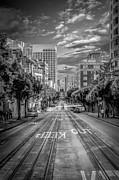 Downtown San Francisco II Print by Erik Brede