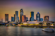 Tampa Skyline Photos - Downtown Tampa by Marvin Spates