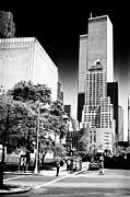 Downtown Views 1990s Print by John Rizzuto