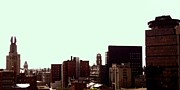 Rochester Skyline Prints - Downtown West Print by Jordan Hughes