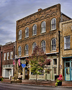 General Stores Prints - Dowtown General Store Print by Heather Applegate