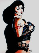 Rocky Horror Picture Show Prints - Dr Frank N Furter Print by Jeremy Moore