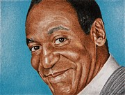 Writer Drawings Prints - Dr Huxtable Print by Brian Broadway
