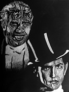 Dracula Drawings - Dr Jekyll And Mr Hyde by Jeremy Moore