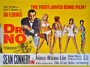 Female Spy Framed Prints - Dr No Framed Print by Nomad Art And  Design