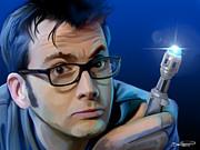 Dr. Who Print by Brett Hardin