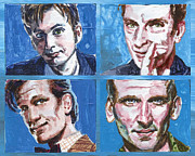 Dr Who Paintings - Dr. Who by Ken Meyer jr