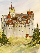 Turkish Originals - Draculas Castle in Bran Romania by Dorothy Maier