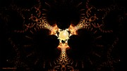 Fractal Worlds Prints - Dragon Claw Print by Linda Whiteside