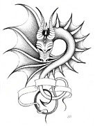 Erla Alberts - Dragon-tattoo II