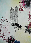 Bitten Kari Metal Prints - Dragonfly Metal Print by Bitten Kari