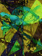 Catherine Mixed Media Prints - Dragonfly Print by Catherine Harms