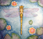 Be Your Light Posters - Dragonfly Dream Poster by Kym Stine