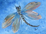 Beverly Livingstone - Dragonfly-pastel
