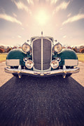 Roadway Framed Prints - Dream Car Framed Print by Edward Fielding